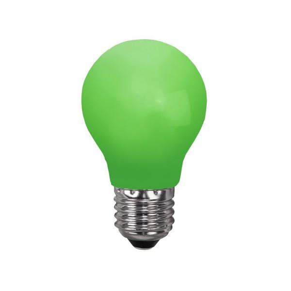 LED Leuchtmittel DEKOPARTY grün - E27 - 0,7W LED