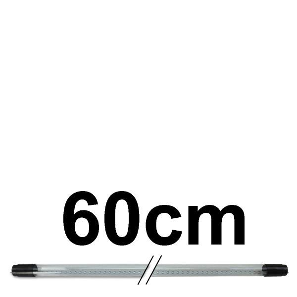UV Schwarzlichtröhre 60cm - Röhrenfassungen mit konventionellem Vorschaltgerät - T8 - 230V - 10W