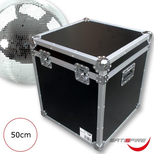 Flightcase Transportcase für 50cm Spiegelkugeln - Roadcase - Transportkiste für Discokugeln