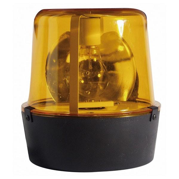 Großes Polizeilicht - 75W - Orange - High-Power