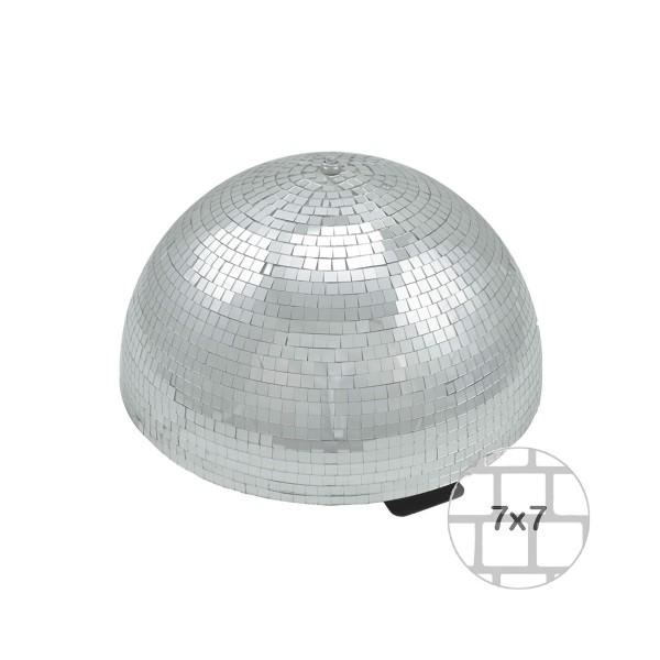 """""""B-Ware"""" Spiegelkugel halb 40cm - für Deckenmontage - Diskokugel Echtglas - 7x7mm Spiegel - PREMIUM"""