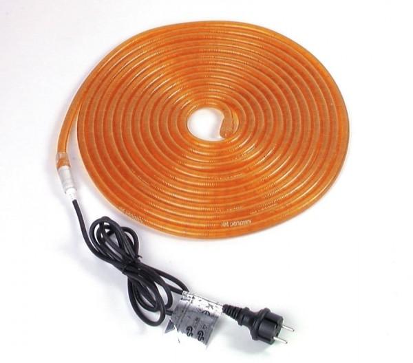 RUBBERLIGHT Lichtschlauch - Outdoor - RL1 - 180 Lampen - 9,00m - anschlussfertig - orange