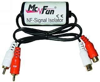 """NF-Low-Level-Filter """"SI-18"""" isoliert Masse zwischen Rad.+Booster"""