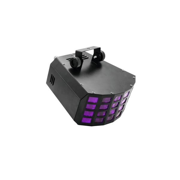 Strahleneffekt mit 6-farbigen, feinen Strahlen - vollautomatische Musiksteuerung