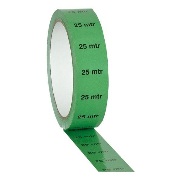 """Stagetape / Markierungs-Tape - 25mm x 33,00m - Grün - """"25 Meter"""""""