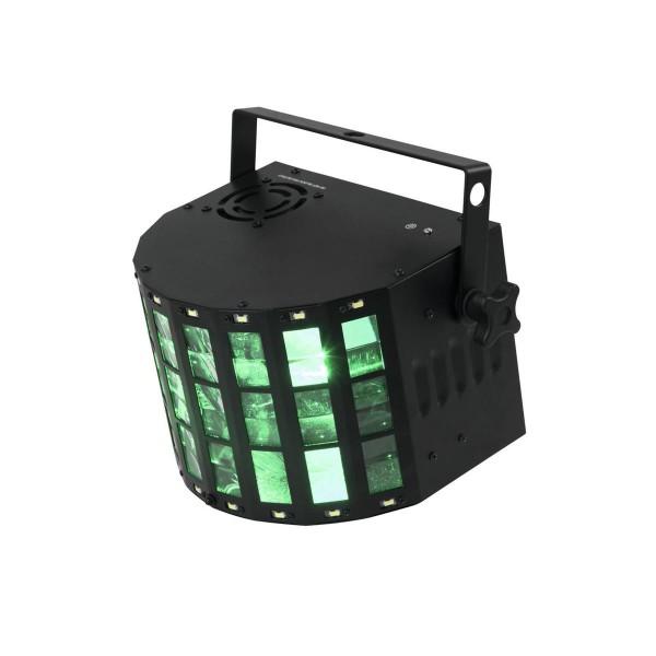 LED Mini Hybrid Strahleneffekt D-20 - Derby Effekt mit Stroboskop - DMX