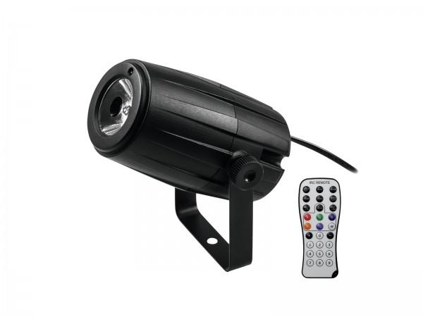 5W LED Punktstrahler - Pinspot RGBW - mit Fernbedienung - Farbwechsler