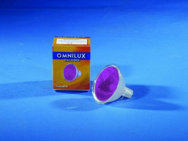 OMNILUX MR-16 12V/50W GX-5.3 SP violett