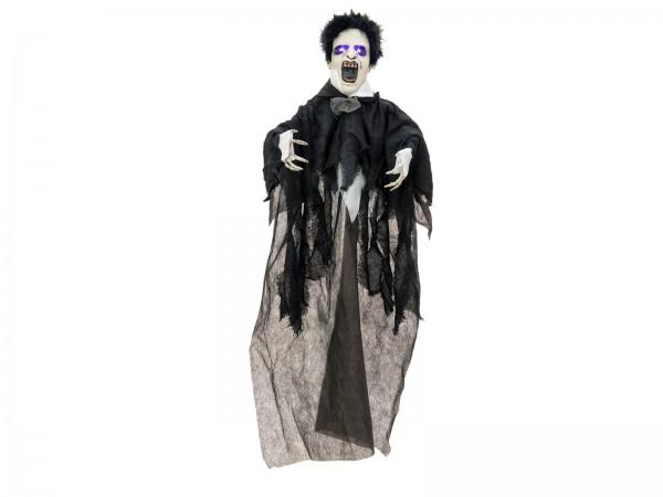 Kleiner Vampir - Halloween Figur 90cm - blinkende Augen und Geräusche - Akustiksensor