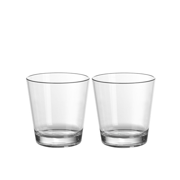 2 x Saftglas aus bruchfestem Polycarbonat - 250ml
