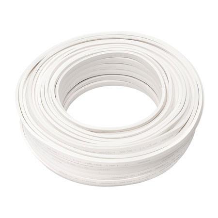 Illu Zubehör   Kabel weiß ohne Fassungen   H05RN-H2-F 2 x 1,5mm²   Meterware - 1m Schnittlänge