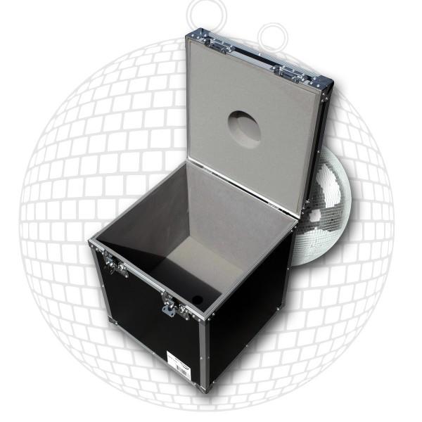 Flightcase Transportcase für 40cm Spiegelkugeln - Roadcase - Transportkiste für Discokugeln