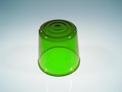 Farbkappe für Polizeilicht DE-1 grün