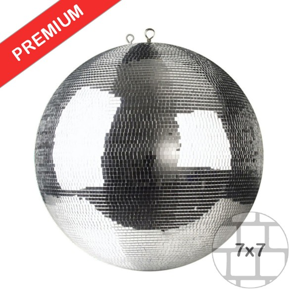 Spiegelkugel 40cm silber chrome- Diskokugel (Discokugel) Party Lichteffekt - Echtglas - mirrorball chrome silver color