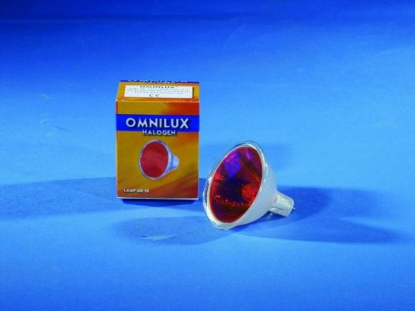 OMNILUX MR-16 12V/50W GX-5.3 SP 12° rot
