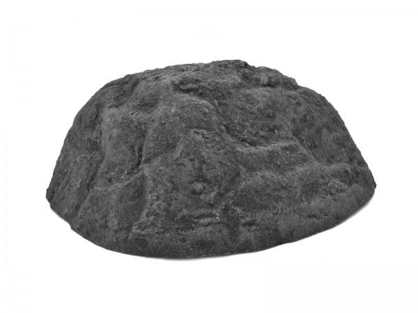 grauer Dekofelsen aus Fiberglas für Kulissenbau - ca. 76x68x30 - grau - Auch für Außen geeignet