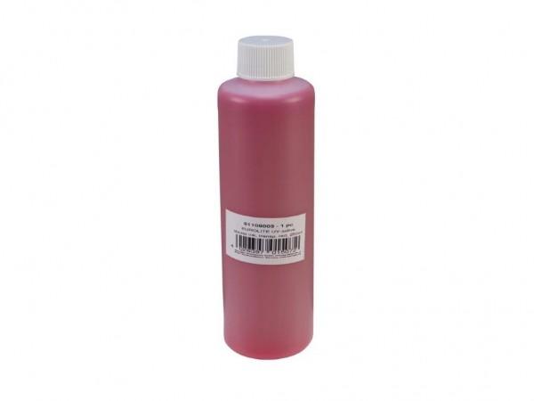 UV -aktive Stempelfarbe - transparent rot - 250ml