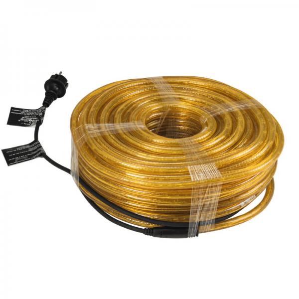 RUBBERLIGHT Lichtschlauch - Outdoor - RL1 -  1584 Lampen - 44m  - anschlussfertig - orange