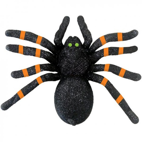 Vogelspinne - 21cm - Halloween Dekoration - Spinne aus Kunststoff