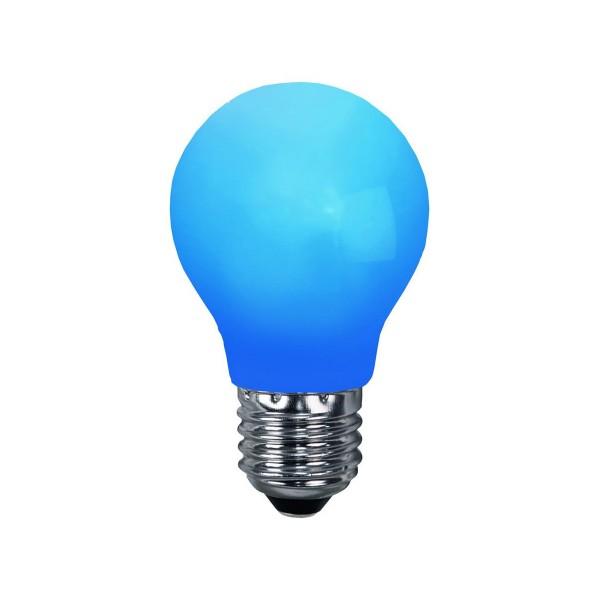 LED Leuchtmittel DEKOPARTY blau - A55 - E27 - 1W - 6lm