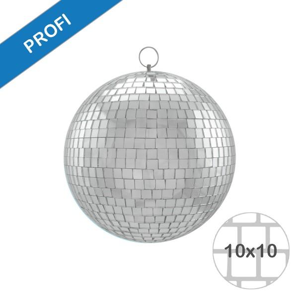 Spiegelkugel 20cm silber- Diskokugel (Discokugel) zur Dekoration und Party- Echtglas - mirrorball silver chrome