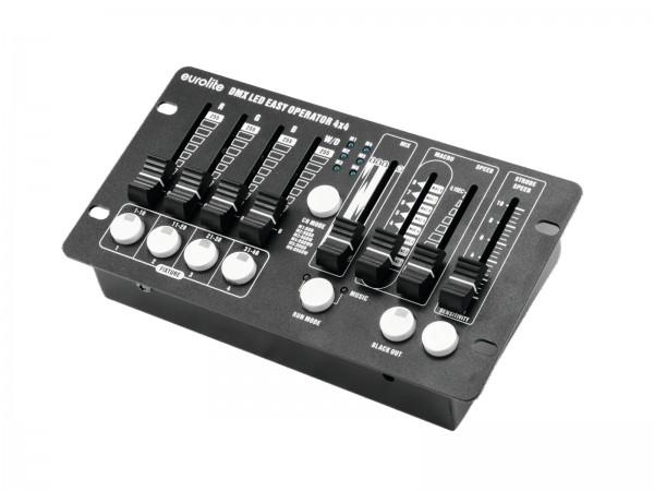 DMX Controller 4x4 - DMX Steuerung für 4-farb Scheinwerfer - PAR Steuerung - RGBW RGBA - Programme - Musiksteuerung