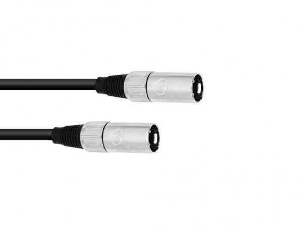 Audio-Kabel - XLR Female (3-Pol) / XLR Male (3-Pol) - 0,20m