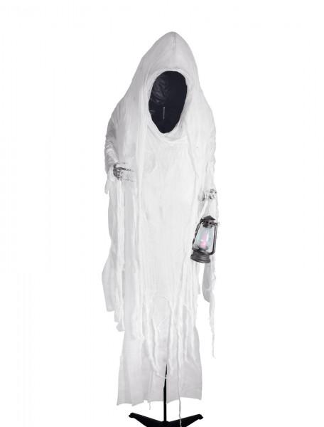 Faceless Woman - Halloween Figur 170cm - mit Geisterlaterne - in Lebensgröße, zum Stellen