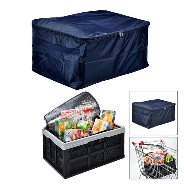 Kühltasche für Klappboxen - 45x40x28cm - Isotasche - Ideal für Einkäufe & Transport