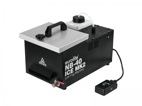 Bodennebel Maschine zum Betrieb mit Eiswuerfeln - Party Show - Nebelmaschine - Spezialeffekt