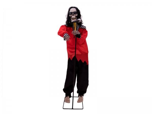 Tanzender Skelett Sänger - 145cm Halloween Figur - tanzt und singt - Sensoraktivierung