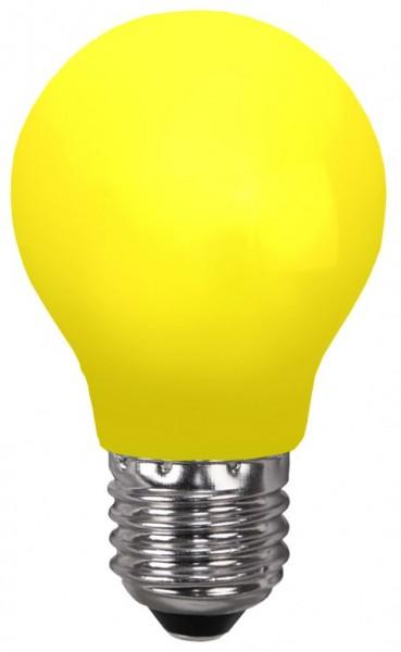 Decoline - LED Leuchtmittel - E27 - 0,7W LED - Gelb