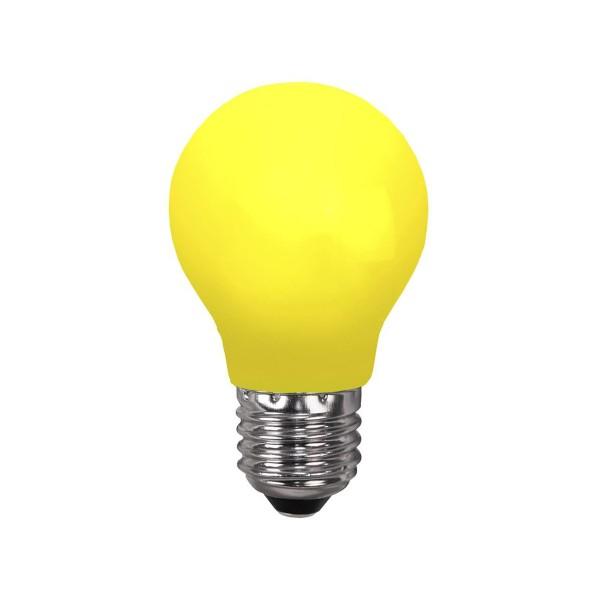 LED Leuchtmittel DEKOPARTY gelb - A55 - E27 - 0,8W - 16lm