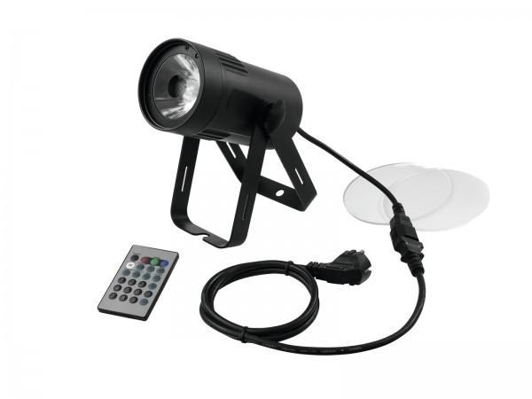 15W Hochleistungs Pinspot - Farbwechsel Punktstrahler - RGBW - DMX- Fernbedienung - Spot Wash Beam