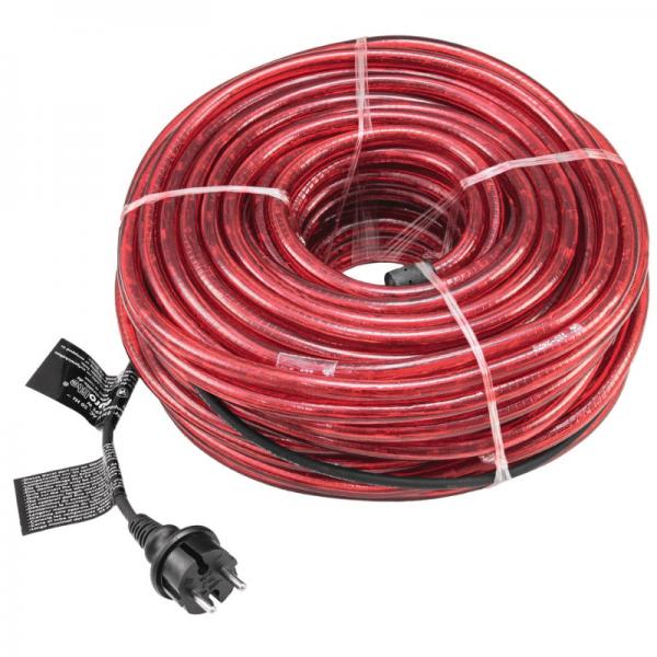 RUBBERLIGHT LED Lichtschlauch - Outdoor - RL1 - 1056 LED - 44m - anschlussfertig - rot
