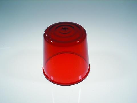 Farbkappe für Polizeilicht DE-1 rot
