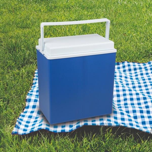 Kühlbox - 7 Stunden Kühlzeit - 24 Liter - Blau