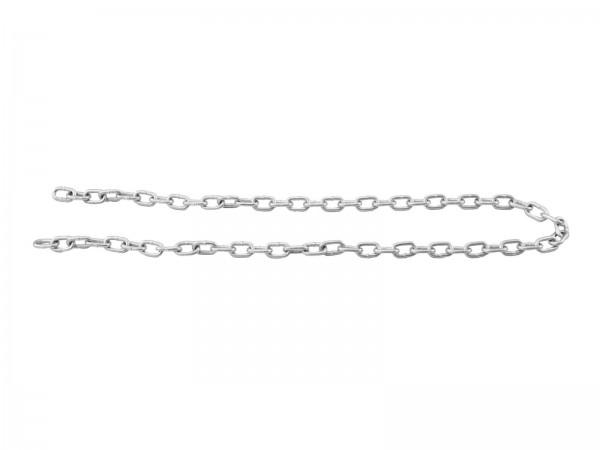 Rundstahlkette für Spiegelkugeln - Montagematerial - Sicherungskette - Stahlkette