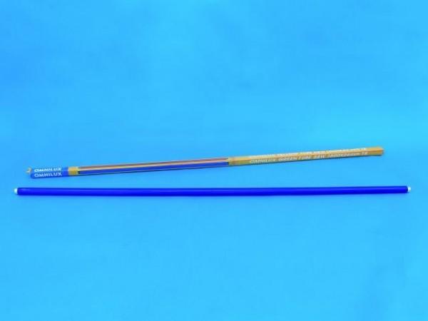 OMNILUX Röhre 58W 1500x26mm Farbglas blau
