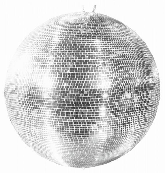Spiegelkugel 150cm silber chrom- Diskokugel (Discokugel) Party Lichteffekt - Echtglas - mirrorball safety silver chrome color 2