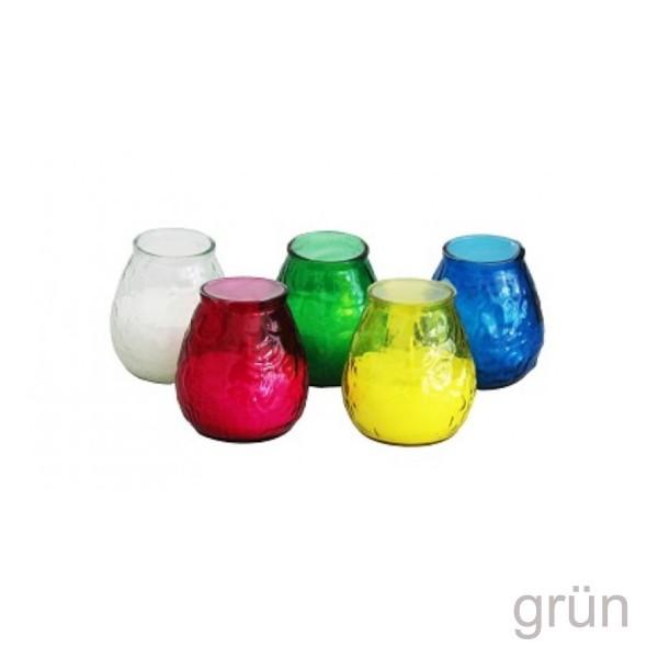 Duftkerze im grünem Glas - Citronella - gegen Stechmücken - +/-50 Stunden