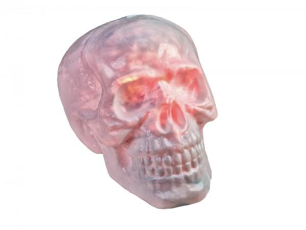 Halloween Totenschädel mit rotem Lichteffekt - 31x22x22cm - Sensorgesteuert oder mit Fernbedienung