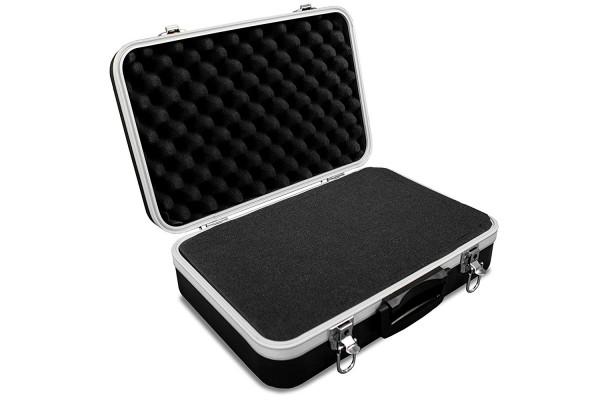 GORANDO® Universal Transportkoffer/Kamerakoffer mit Würfelschaum - Case aus ABS Kunststoff  - f. Werkzeug, Foto, Geräte