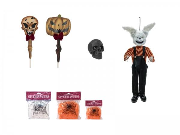Halloween SET BASIC - 7-teilig - Grundausstattung im praktischen Paket