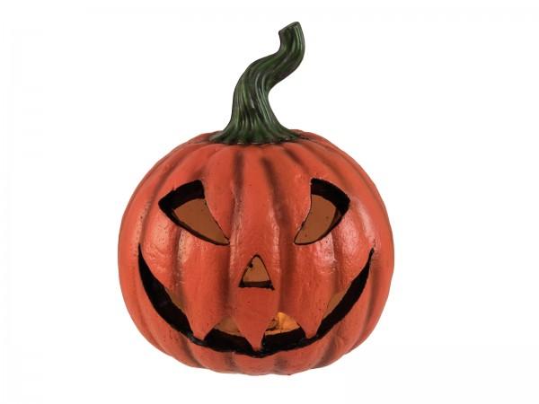 Halloween Kürbis beleuchtet, 26x21x21cm - Batteriebetrieb