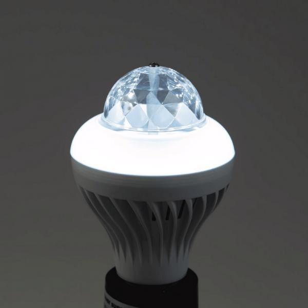 Disco-Hybrid-Effektleuchte mit RGB- oder kaltweißen LEDs - BCL-1 | E-27 Fassung | bunt und weiss