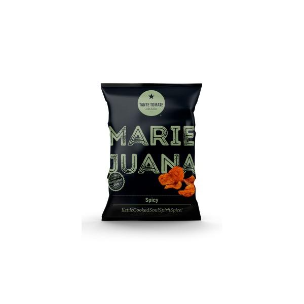MarieJuana - Kesselchips - Spicy - 115g Tüte