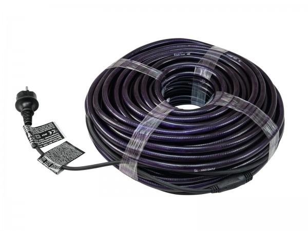 RUBBERLIGHT Lichtschlauch - Outdoor - RL1 -  1584 Lampen - 44m - anschlussfertig - violett/pink