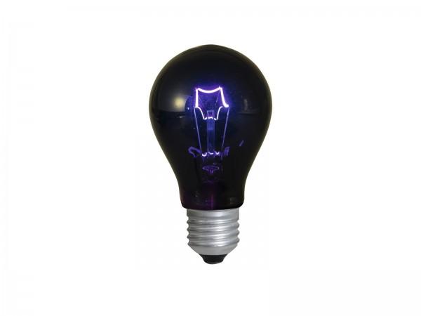 Schwarzlichtlampe A19 - Glühlampe - UV-Lampe - E27 - 75W