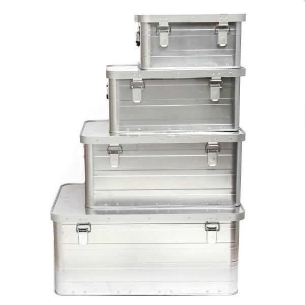Aluminium Transportkiste - M - GORANDO SAFARI - Universal Alubox
